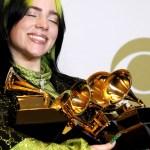 Billie Eilish se convierte en la gran triunfadora del Grammy