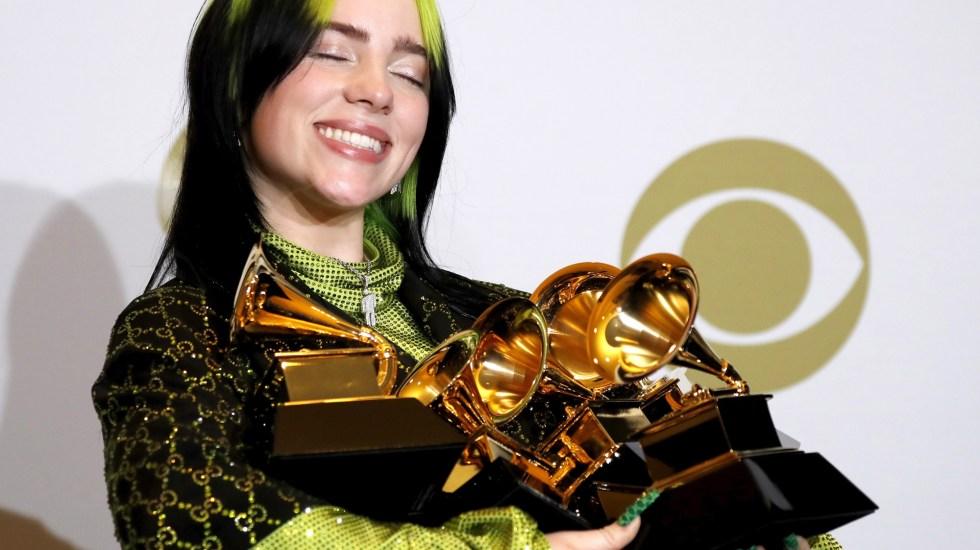 Billie Eilish se convierte en la gran triunfadora del Grammy - Foto de EFE