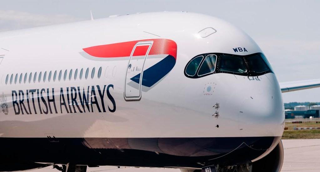 British Airways despedirá a 12 mil empleados ante crisis por COVID-19 - Avión de British Airways. Foto de @british_airways