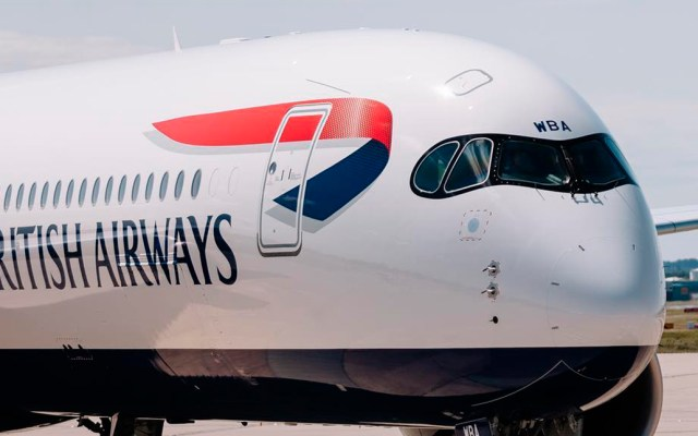 British Airways suspende vuelos con China por coronavirus - Avión de British Airways. Foto de @british_airways