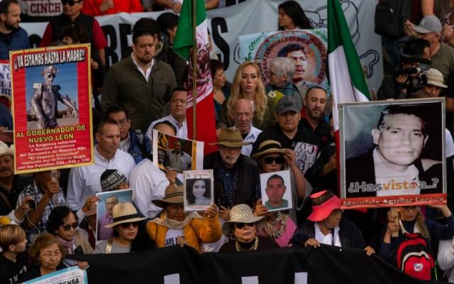 Pide CNDH garantizar seguridad a la Caminata por la Verdad, Justicia y Paz - Foto de Notimex