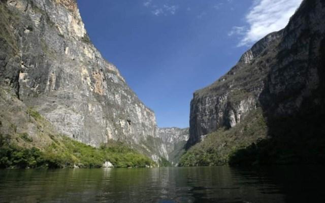 Reabren el Cañón del Sumidero al turismo tras deslave - Cañón del Sumidero. Foto de @SemahnChiapas