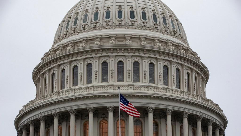 Mayoría de congresistas republicanos declina confirmar ganador de elección en EE.UU. - Aspecto del Capitolio de Estados Unidos del 14 de enero de 2020. Foto de EFE/EPA/SAMUEL CORUM