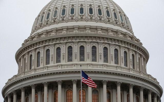 Comités del Senado de EE.UU. aprueban T-MEC; pasa al Pleno - Aspecto del Capitolio de Estados Unidos del 14 de enero de 2020. Foto de EFE/EPA/SAMUEL CORUM