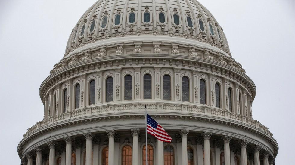 EE.UU. celebra su independencia con casi un regreso a la 'normalidad' - Aspecto del Capitolio de Estados Unidos del 14 de enero de 2020. Foto de EFE/EPA/SAMUEL CORUM