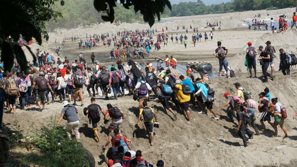 Amnistía Internacional exige garantías para organizaciones defensoras de migrantes - caravana migrantes