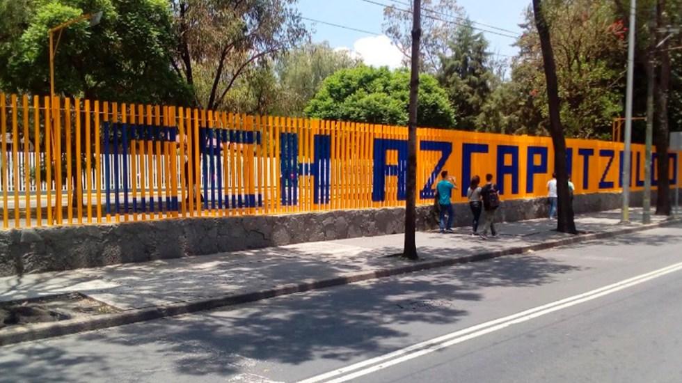 Encapuchados agreden en CCH Azcapotzalco a alumna - CCH Azcapotzalco. Foto de Google Maps / Gael Ramírez