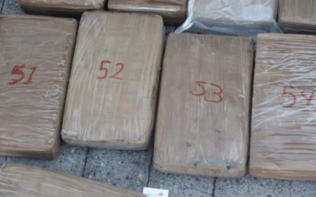 Militares decomisan cargamento de cocaína en Michoacán - Foto de Sedena