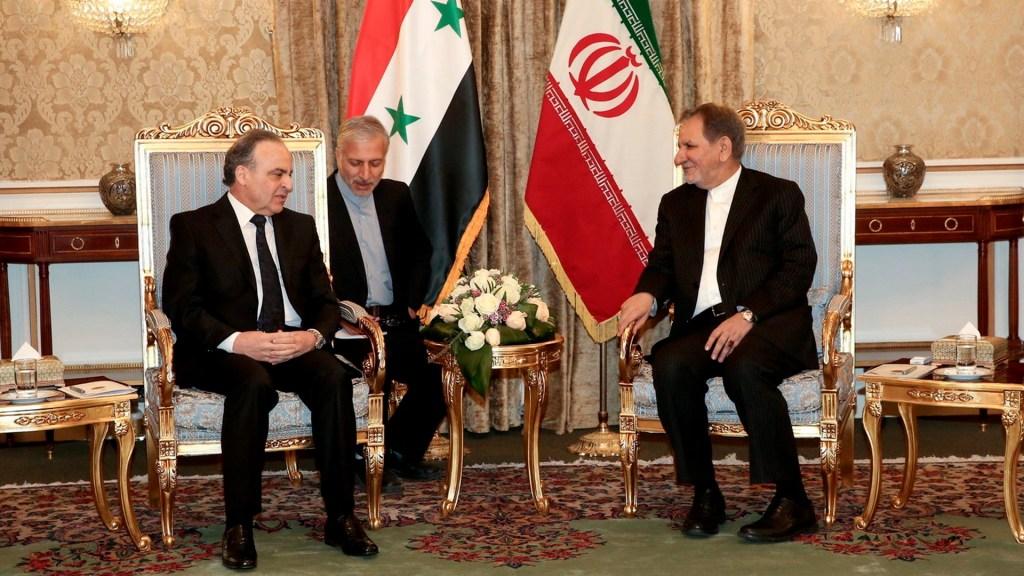 Irán llama a la unidad de Medio Oriente contra tropas estadounidenses - Delegación iraní en Teherán. Foto de EFE / Presidencia de Irán
