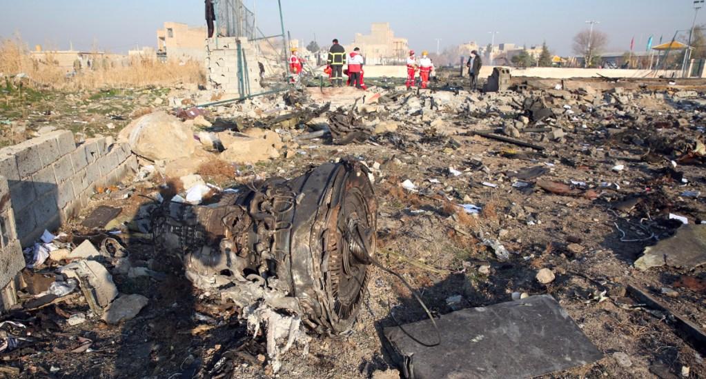 OTAN pide a Irán cooperar en investigación de accidente de avión ucraniano - OTAN pide a Irán cooperar en la investigación del derribo de avión ucraniano