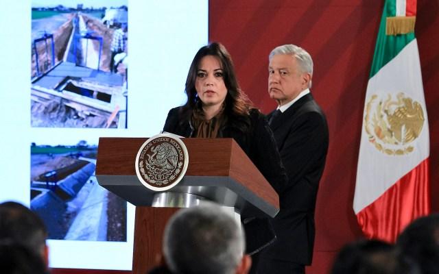 Segob confirma 137 víctimas identificadas de explosión en Tlahuelilpan; Conferencia de AMLO (17-01-2020) - 200117005. Ciudad de México, 17 Ene 2020 (Notimex-Javier Lira).- Diana Álvarez Maury, subsecretaria de Desarrollo Democrático, Participación Social y Asuntos Religiosos, informó sobre las acciones de apoyo a familiares de las víctimas de la explosión en Tlahuelilpan a un año de los hechos. Ciudad de México, 17 de enero de 2020. NOTIMEX/FOTO/JAVIER LIRA/JLO/POL/4TAT
