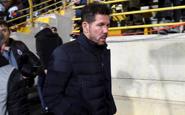 Atlético de Madrid respalda al técnico Diego Simeone - Diego Simeone Atlético de Madrid