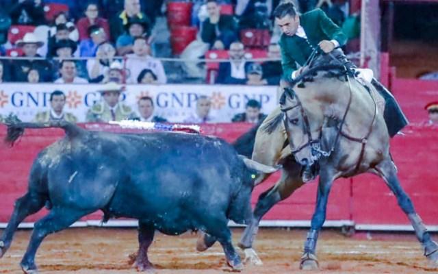 Mano a mano de rejoneadores entre Ventura y Gamero en la Plaza México - Foto de Diego Ventura Oficial