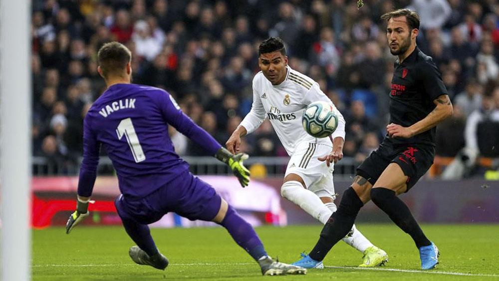 Doblete de Casemiro da la victoria al Real Madrid ante el Sevilla - Doblete de Casemiro da la victoria al Real Madrid ante el Sevilla