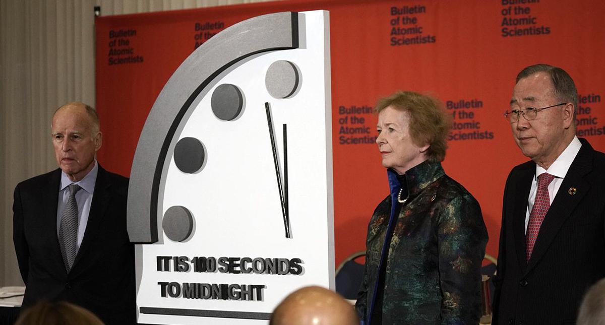 Reloj del Apocalipsis mueve sus manecillas; el fin del mundo se acerca