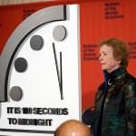 Científicos ajustan reloj a 100 segundos del Día del Juicio Final