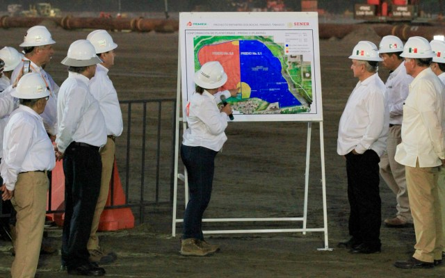 Bancos chinos financiarán parte de Dos Bocas - Foto de Notimex
