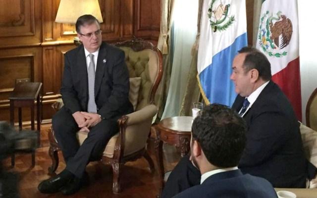 Ebrard anuncia diálogo bilateral con Guatemala por migración - Ebrard anuncia diálogo bilateral con Guatemala por migración