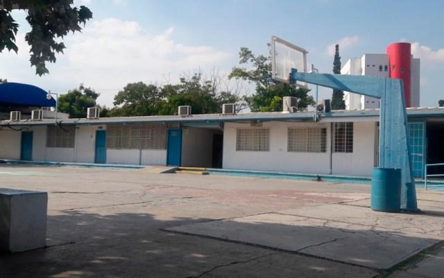 Refuerzan vigilancia en secundaria de Monterrey por amenaza de tiroteo - Escuela Secundaria 'Jaime Torres Bodet' de Monterrey. Foto de Anna Lucia Medina / Google Maps
