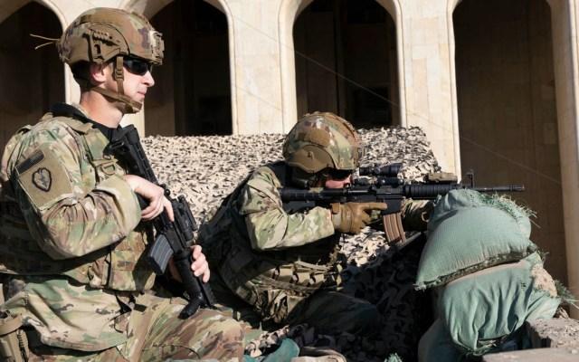 Estados Unidos reducirá de 5 mil 200 a 3 mil el número de soldados que mantiene en Irak - Estados Unidos soldados Irak