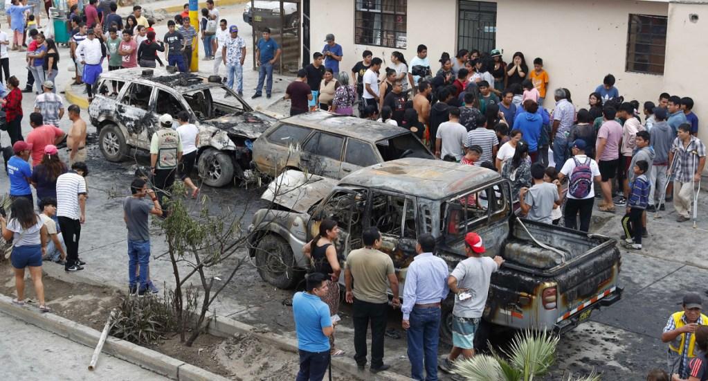 Brasil envía piel humana a víctimas de explosión de gas en Perú - Brasil envía piel humana a víctimas de explosión de gas en Perú