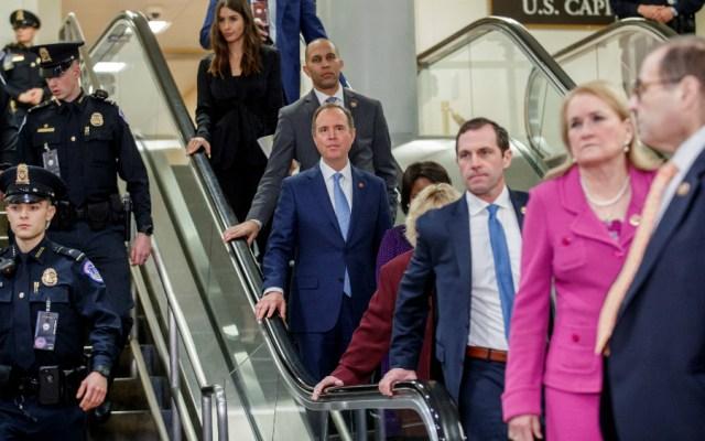 Demócratas concluyen su alegato acusatorio en el juicio contra Trump - Foto de EFE