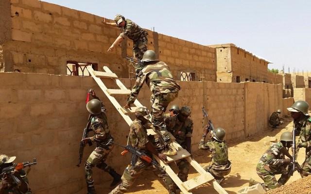 Ataque presuntamente yihadista en Níger mata a 31 soldados - Forces armées nigériennes. Foto del Ministerio de Defensa de Francia