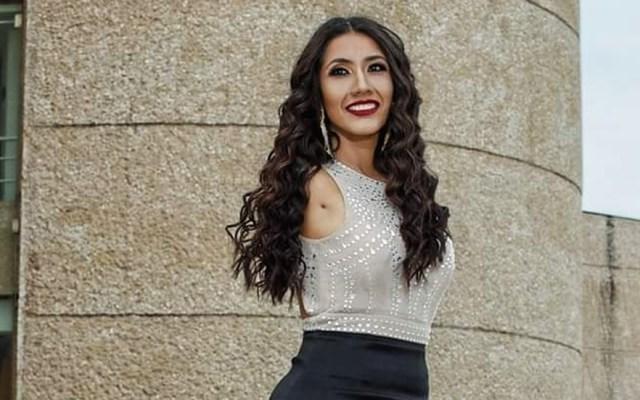 "Ana Gabriela Molina, la ""miss"" mexicana que no tiene brazos - Gabriela Molina. Foto de @gabymolinads"