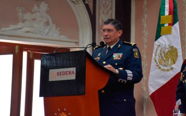 El general Luis Cresencio Sandoval lamenta muerte de coronel de Caballería - General Luis Cresencio Sandoval. Foto de @Luis_C_Sandoval