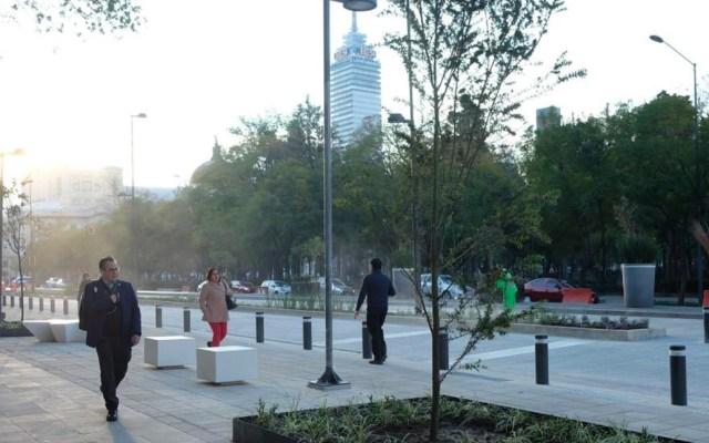 Entregan remodelación de avenida Hidalgo en el Centro de la capital - Sheinbaum entrega remodelación de avenida Hidalgo en centro de la CDMX