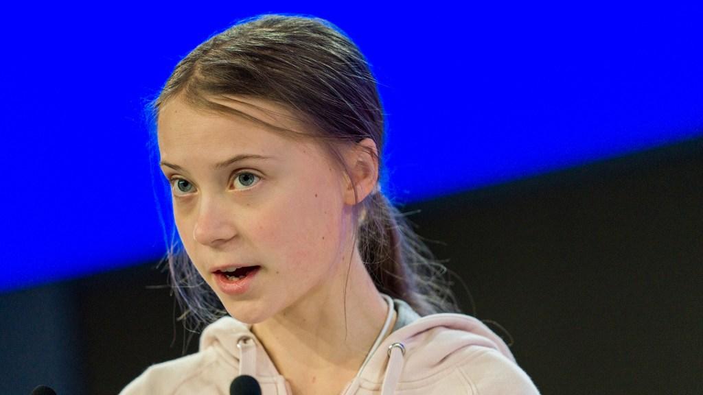 Trump y Thunberg cruzan reproches sobre crisis climática en Davos - Greta Thunberg