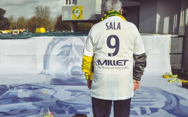 Nantes rinde homenaje a Emiliano Sala a un año de su muerte - Homenaje Emiliano Sala