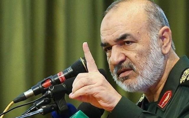 Guardia Revolucionaria iraní responde con advertencia a amenaza de EE.UU. e Israel - Hosein Salamí, líder de la Guardia Revolucionaria de Irán. Foto de Tasnim