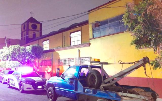 Detienen en la GAM a ladrón de limosnas de parroquia - Parroquia de Nuestra Señora de Lourdes de la colonia Nueva Atzacoalco. Foto de SSC-CDMX