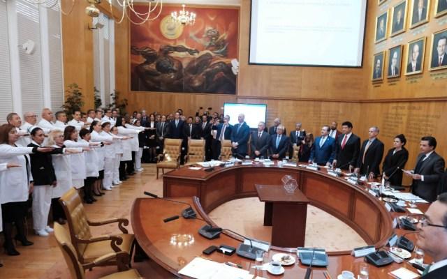 Rinden protesta 35 nuevos delegados del IMSS - Foto de IMSS