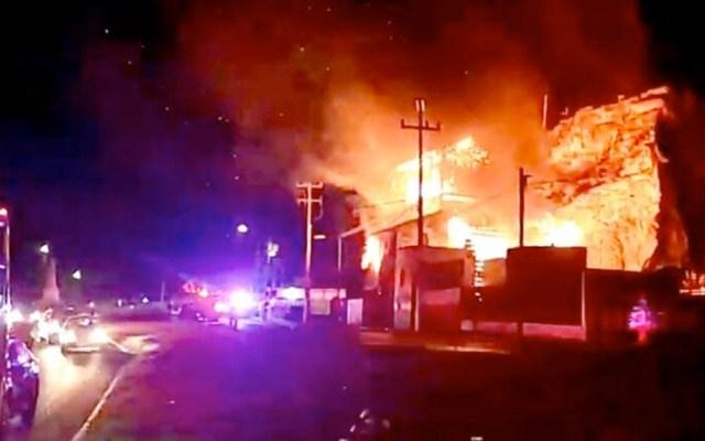 Incendio daña el Molino de La Pedrera en Toluca - Incendio daña el Molino de La Pedrera en Toluca
