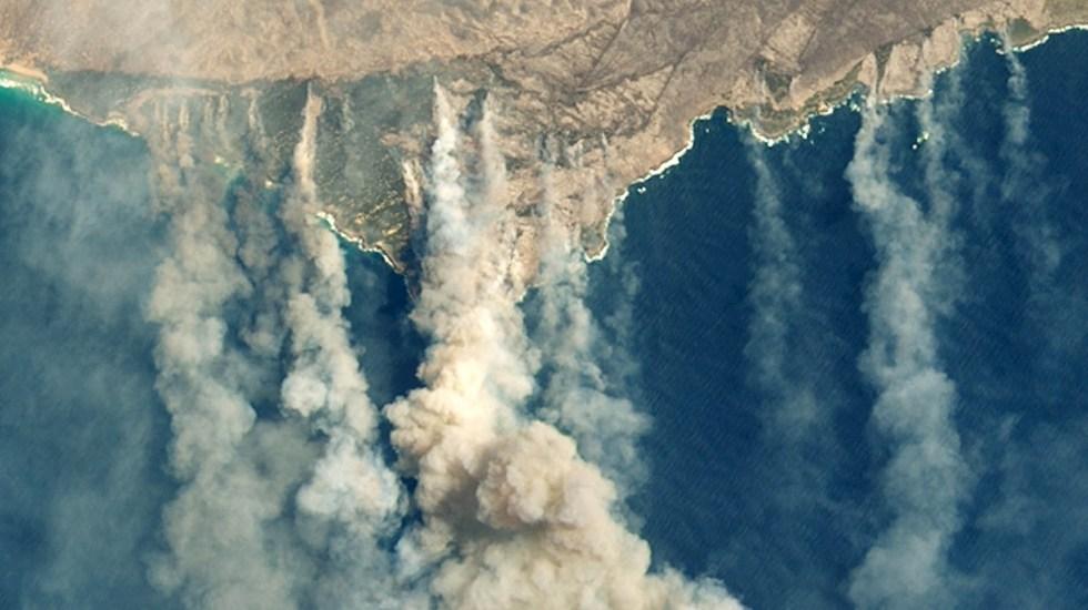 Inicio de previa del Abierto de Australia se retrasa por mala calidad del aire - Incendios Australia daños fuego