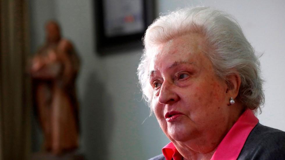 Murió la infanta Pilar de Borbón a los 83 años - Infanta Pilar de Borbón. Foto de EFE