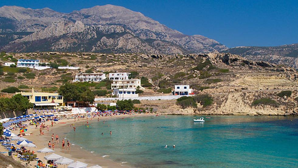 Sismo de magnitud 5.2 sacude isla de Kárpatos sin dejar víctimas - Isla griega de Kárpatos. Foto de Grecia.info