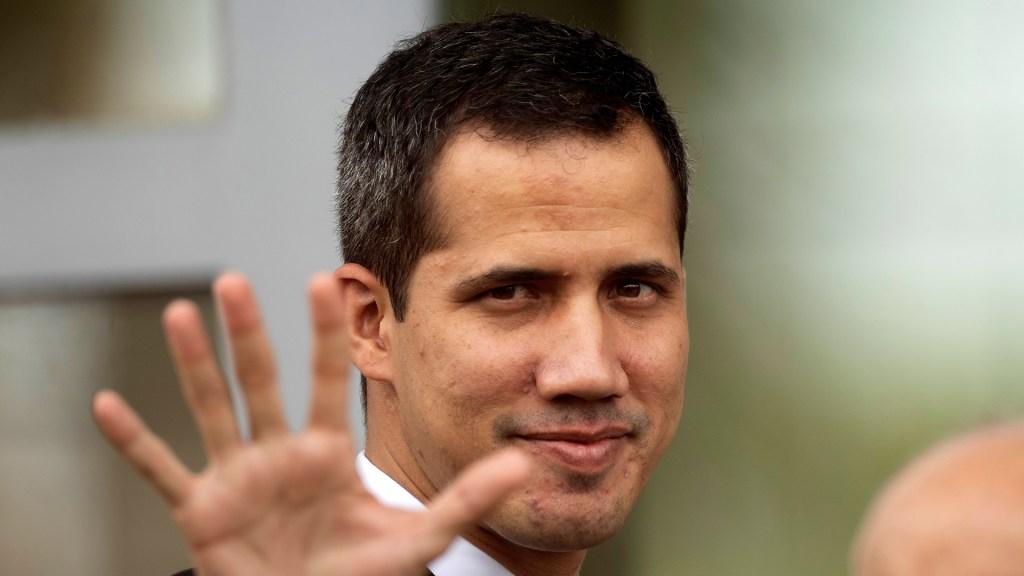 Guaidó regresa a Venezuela tras gira internacional de tres semanas - Foto de EFE