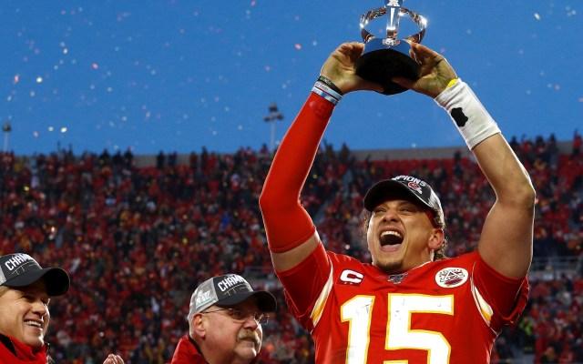 Chiefs de Kansas City van al Super Bowl - Kansas City Chiefs Tenesse Titans partido 2 Mahomes