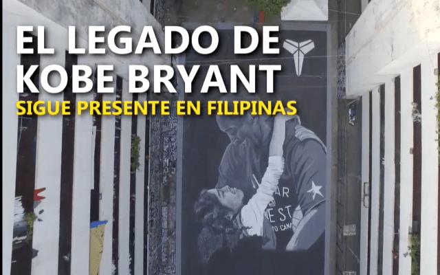 El legado de Kobe Bryant sigue presente en Filipinas