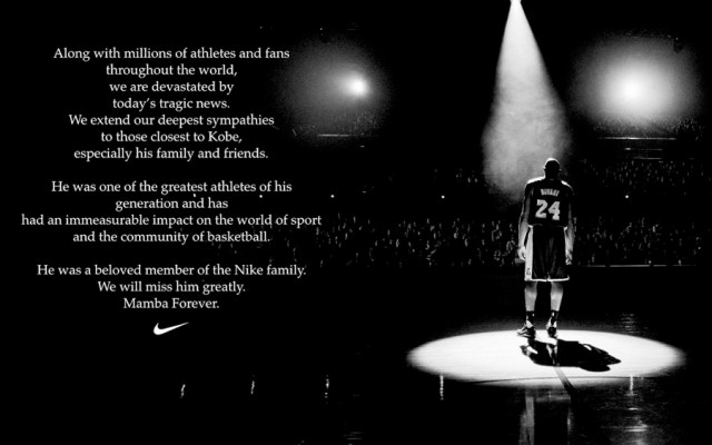 Productos de Kobe Bryant dejan de estar disponibles en sitio web de Nike - Productos de Kobe Bryant dejan de estar disponibles en sitio web de Nike