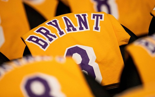 Despiden a Kobe Bryant en la casa de los Lakers - Kobe Bryant Staples Center Lakers