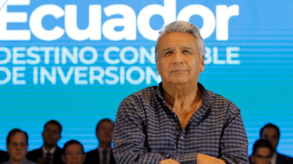 Lenín Moreno asegura que mujeres denuncian acoso cuando el hombre es feo - Foto de EFE