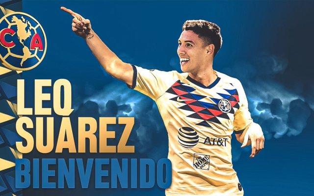 Leonardo Suárez, refuerzo del América para el Clausura 2020 - Leonardo Suárez. Foto de @ClubAmerica