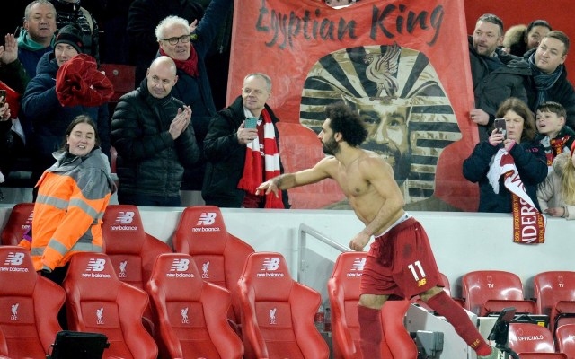 Liverpool derrota a un debilitado Manchester United en Premier League - Liverpool Manchester United Mohamed Salah 2