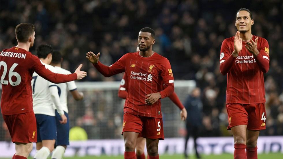 Liverpool sigue imparable en la Premier League tras vencer al Tottenham - Liverpool sigue imparable en la Premier League tras vencer al Tottenham