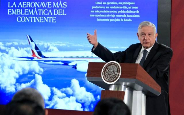 AMLO propone rifa para vender avión presidencial - 200117010. Ciudad de México, 17 Ene 2020 (Notimex-Javier Lira).- El presidente Andrés Manuel López Obrador durante su conferencia matutina del día de hoy. Ciudad de México, 17 de enero de 2020. NOTIMEX/FOTO/JAVIER LIRA/JLO/POL/4TAT