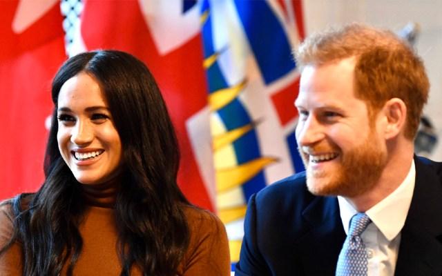 Príncipe Harry y Meghan Markle se apartan de la familia real británica - Meghan Markle y el príncipe Harry. Foto de @RoyalFamily